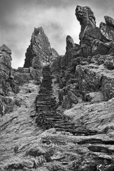 The petrified dragon of skellig michael