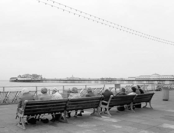 Pier watching