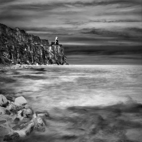 Split rock lake superior  minnesota