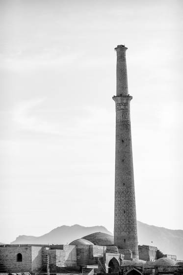 Minaret of the mosque of ali