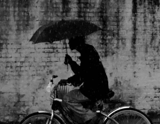 Cemetary rain
