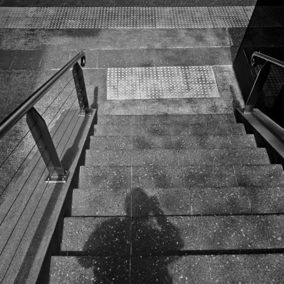 Shadow portrait 1