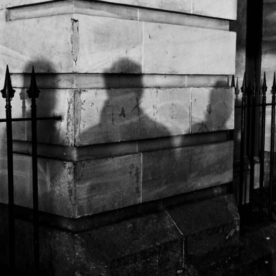 Shadow portrait with others 2