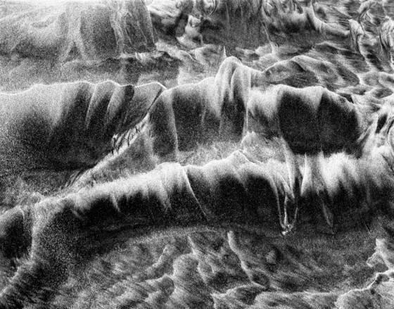 Sand pattern  1 solana beach