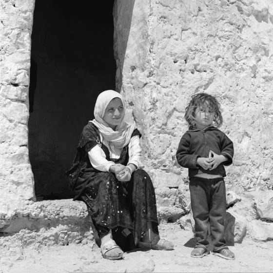 Mother and son tunisia