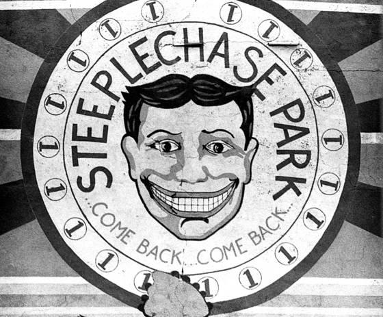 01 steeplechase face coney island  ny 1990