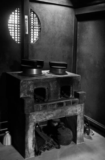 Rakushi sha house stove