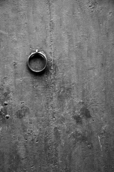 Door pull ring
