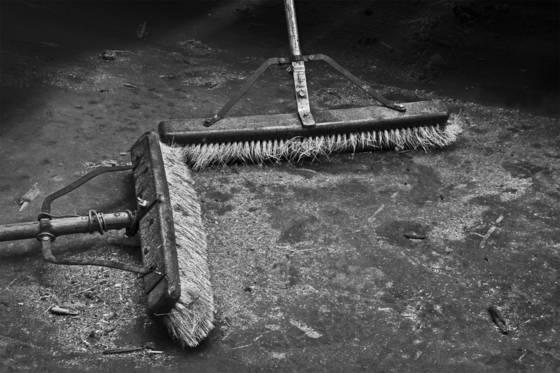 Sweep up