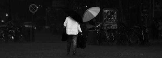Hannover under rain