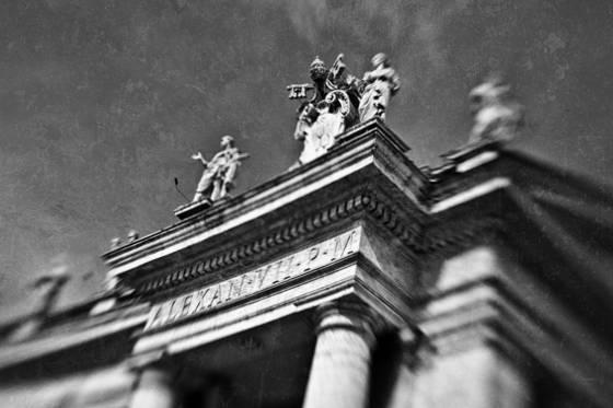 Pope aleander vii s portal
