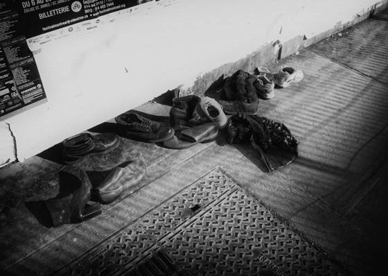 Homeless shoes