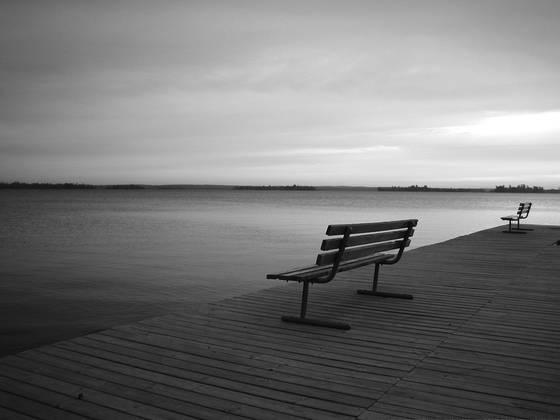 Lake benches