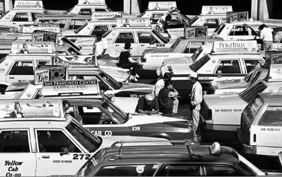 Cab lot
