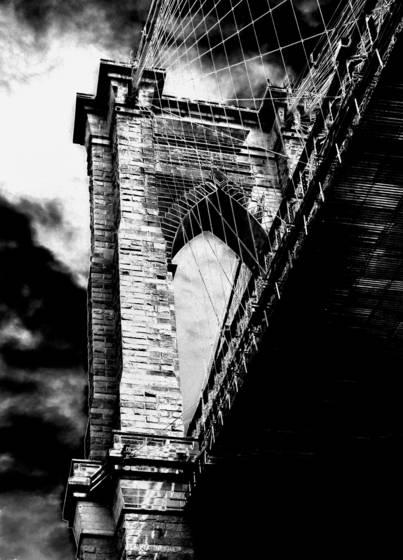 09 brooklyn bridge stanchion   new york city