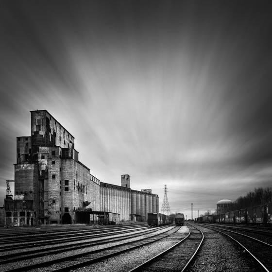 Cargill train yard