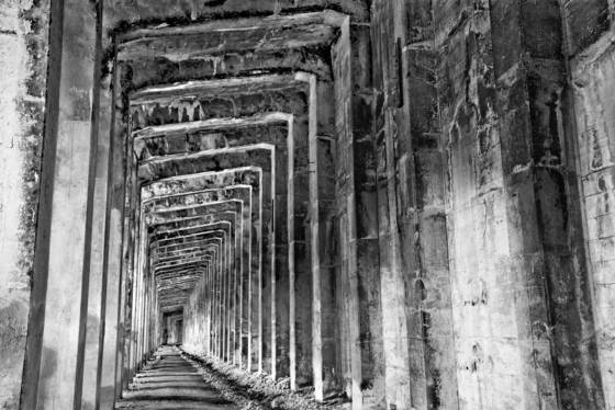 Snow shead tunnel