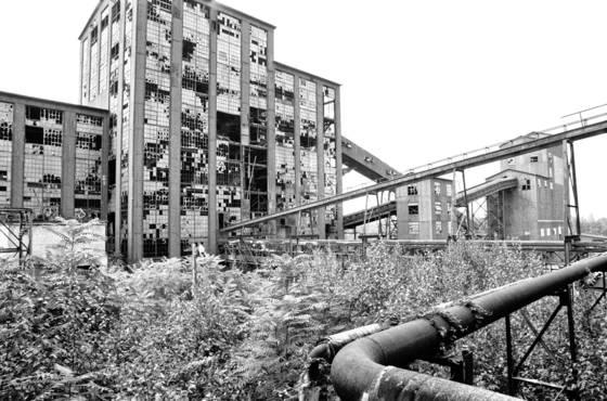 8 abandoned glen alden collery
