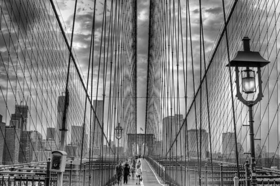 Brooklyn bridge study iii