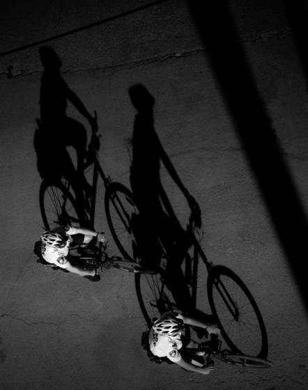 Police shadows