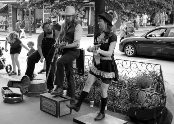 Street scene  1 asheville
