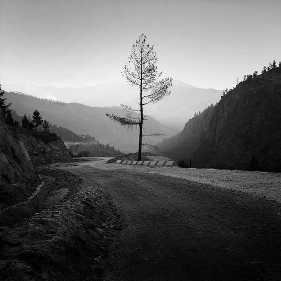 A road to thimphu
