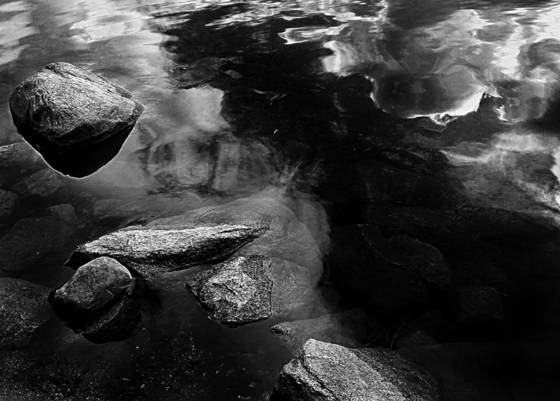 Rocks and reflections