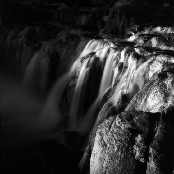 Shoshone falls at sunset