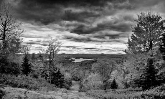View from mccauley mountain