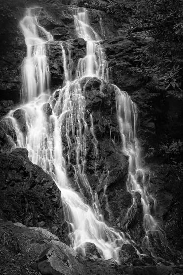 Smokey waterfall