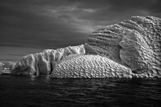 Golf ball iceberg