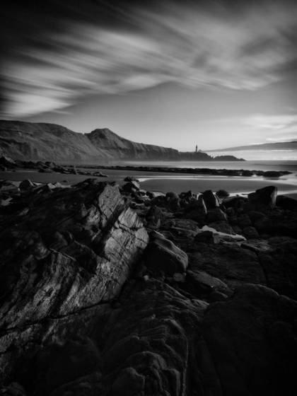 Yaquina head in infrared