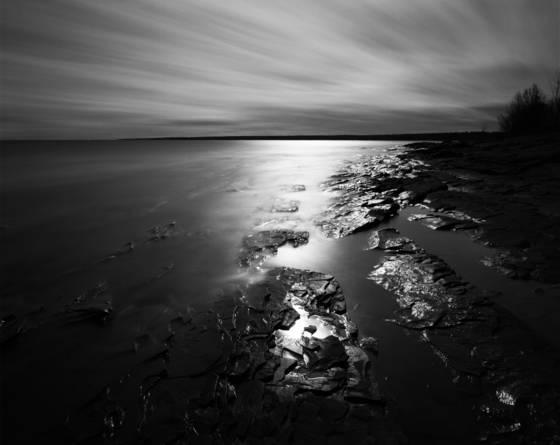 Union bay moonrise