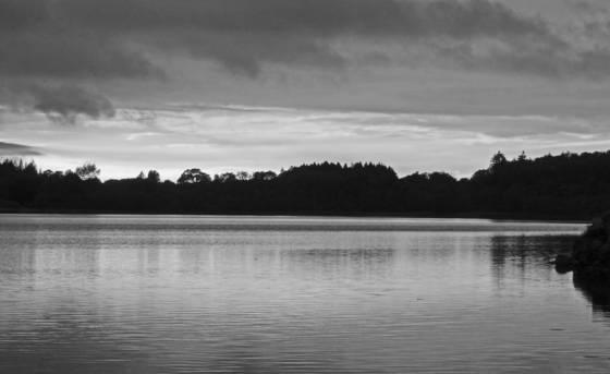 Loch erne evening sky
