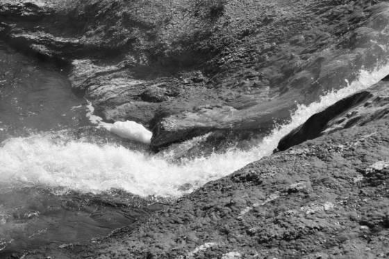 Waterfall yellowstone 2012