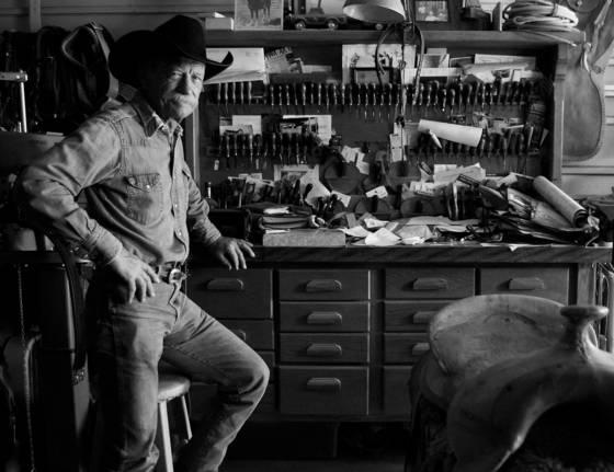The saddle man