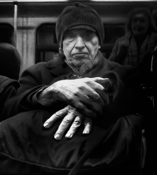 Subway passenger