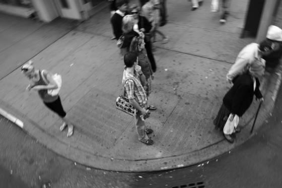 A new york corner