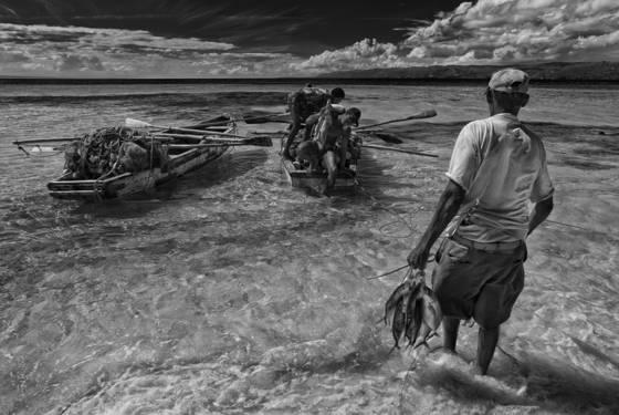 Fishermen catch