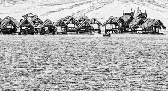 Coastal huts