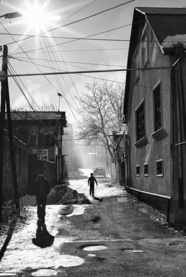 Vanadzor street life