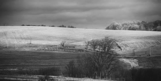 Farm field near mineral point