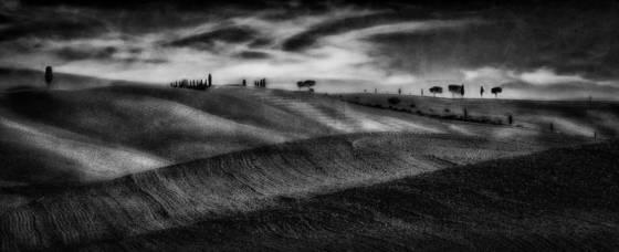 Tuscan hills no 4