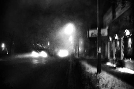 Winter at 4 am