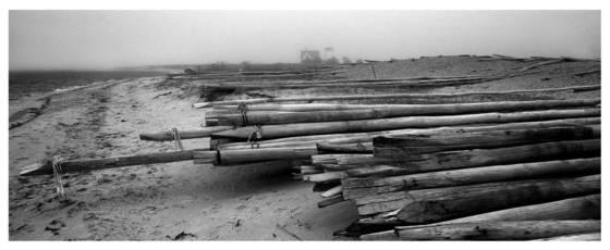 Weir poles