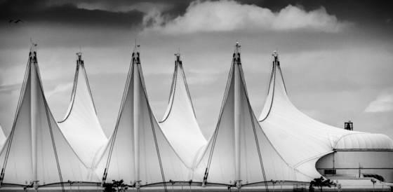 Tent sails