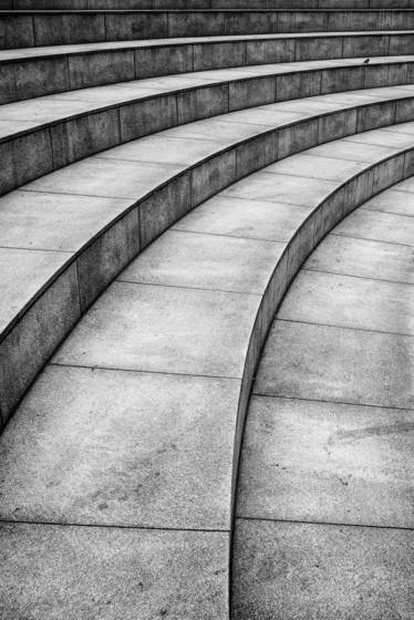 Curved steps 2