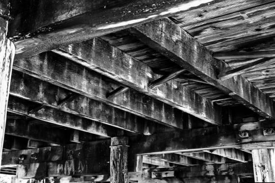 Boardwalk rafters