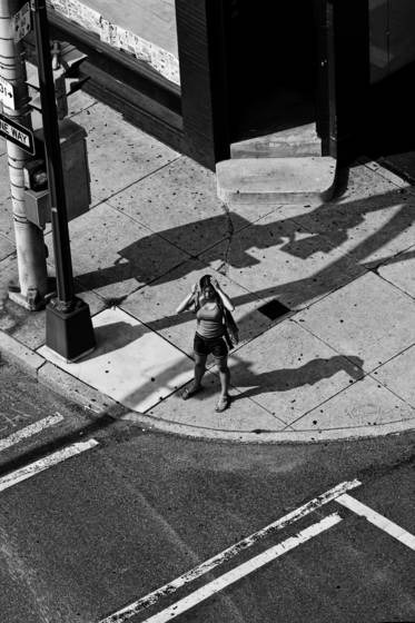 Woman at a crossroad  1