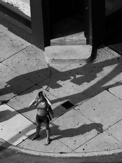 Woman at a crossroad  2